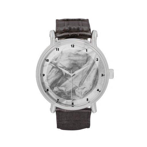 Matthias Grünewald: Estudio de la pañería Reloj De Mano
