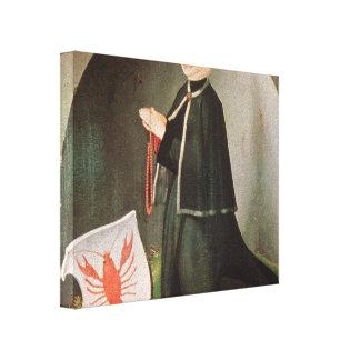 Matthias Grünewald- Heller Altarpiece (detail) Stretched Canvas Prints