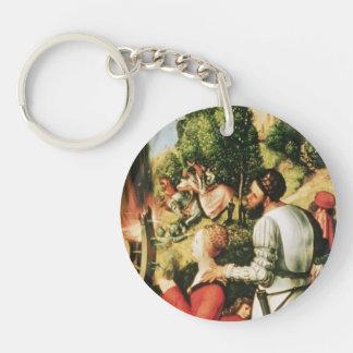 Matthias Grünewald- Heller Altarpiece (detail) Acrylic Keychains