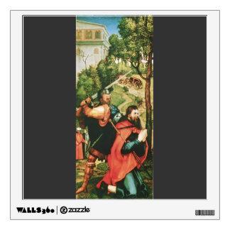 Matthias Grünewald- Heller Altarpiece (detail) Room Stickers