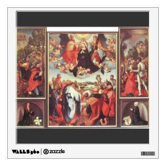 Matthias Grünewald- Heller Altarpiece Room Graphic