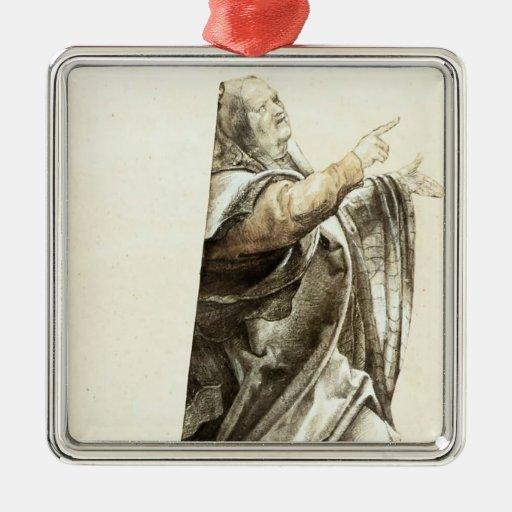 Matthias Grünewald: Pharisee que se queja Ornaments Para Arbol De Navidad