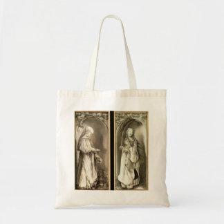 Matthias Grünewald-St. Elizabeth and a Saint Woman Canvas Bags