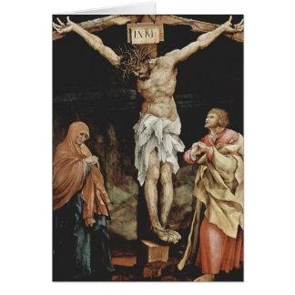 Matthias Grünewald- The Crucifixion Card