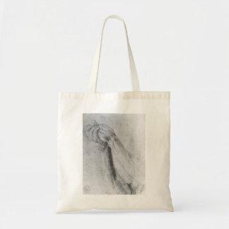 Matthias Grünewald: Upper Arm Study Canvas Bag