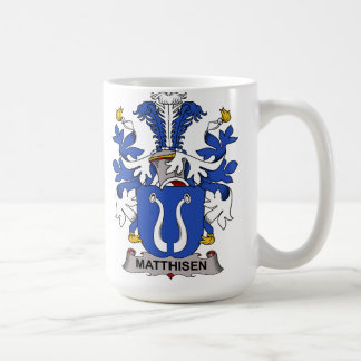 Matthisen Family Crest Coffee Mug