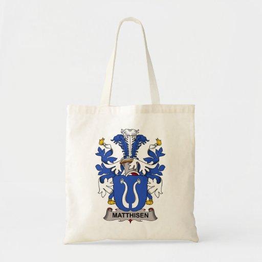 Matthisen Family Crest Tote Bag