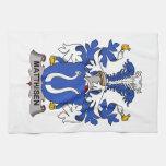 Matthisen Family Crest Towels