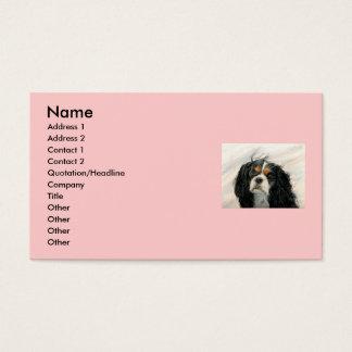 Mattie the King Charles Cavalier Business Card