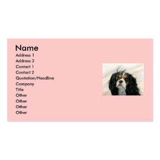 Mattie the King Charles Cavalier Double-Sided Standard Business Cards (Pack Of 100)