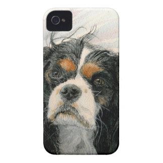 Mattie the King Charles Cavalier Spaniel iPhone 4 Cases
