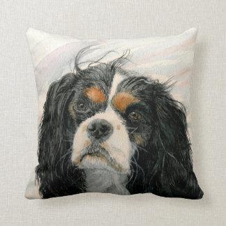 Mattie the King Charles Cavalier Spaniel Pillows