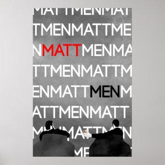 MattMen: The Poster! Poster
