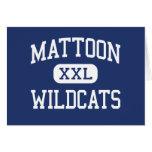 Mattoon Wildcats Middle Mattoon Illinois Greeting Card