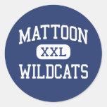 Mattoon Wildcats Middle Mattoon Illinois Sticker