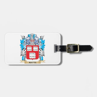 Matts Coat of Arms - Family Crest Travel Bag Tags