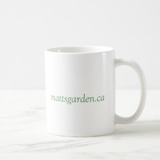 Matt's Garden Sunflower Mug