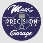 Matt's Precision Garage Standard Logo Stickers