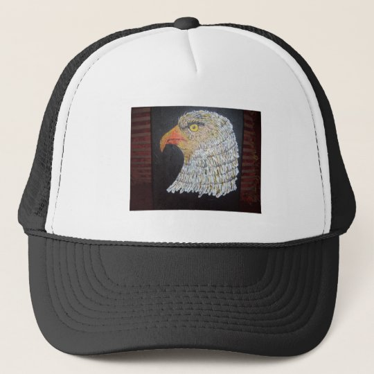 Mature Eagle Trucker Hat