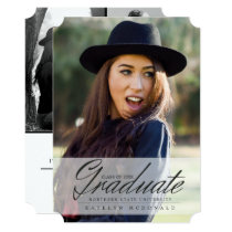Mature & Elegan Graduate, Graduation Announcements