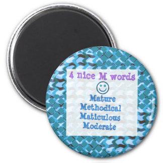 Mature,METHODICAL,Moderate HAPPYMAN lowprice Magnet