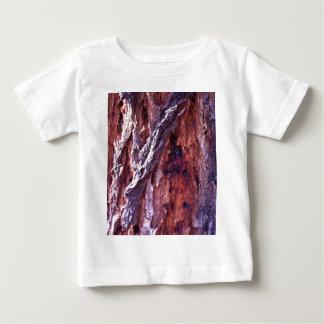 Mature Redwood gum tree bark in summer Baby T-Shirt
