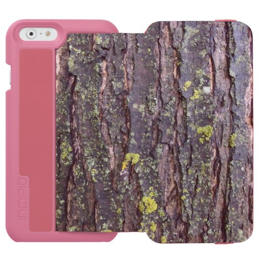 Mature Tree Bark iPhone 6/6s Wallet Case