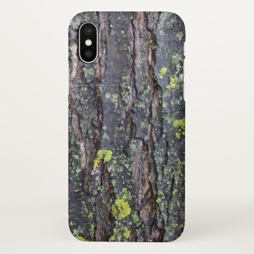 Mature Tree Bark iPhone Case