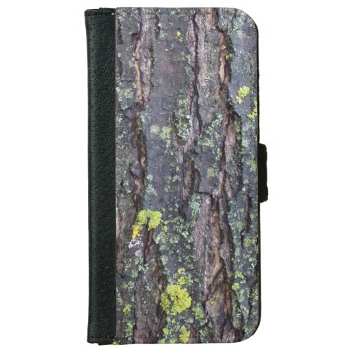 Mature Tree Bark Wallet Phone Case