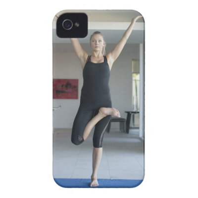 Mature woman exercising 2 iphone 4 case-mate cases by prophoto