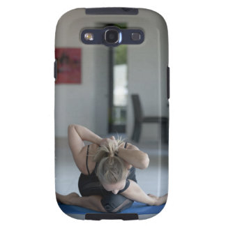 Mature woman exercising 3 galaxy s3 case