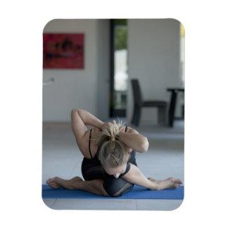Mature woman exercising 3 magnet