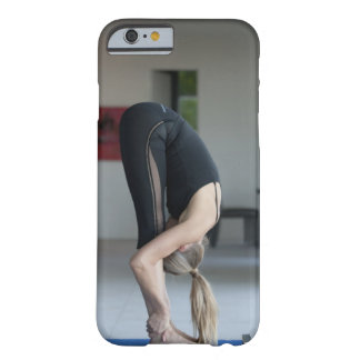 Mature woman exercising barely there iPhone 6 case