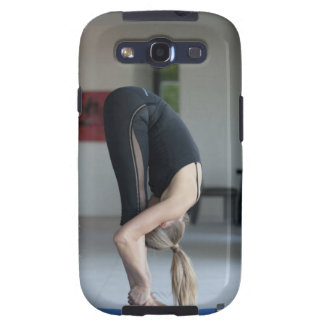 Mature woman exercising galaxy s3 covers