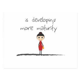 maturity-girl-1 postcard