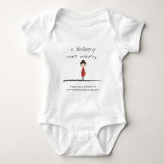 maturity-girl baby bodysuit