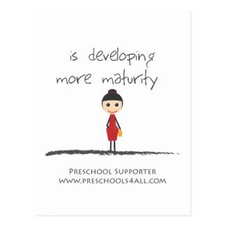maturity-girl postcard