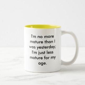 Maturity Mugs