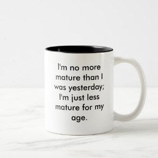 Maturity Two-Tone Coffee Mug