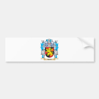 Maty Coat of Arms - Family Crest Bumper Sticker