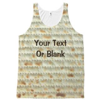 Matzah All-Over Print Tank Top