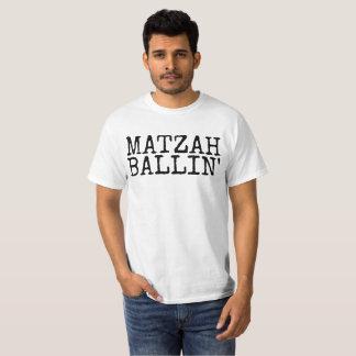 MATZAH BALLIN' Funny Jewish T-shirts