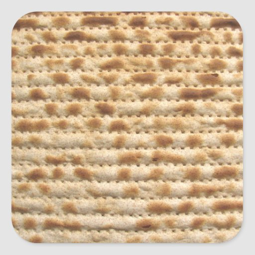 Matzah biscuit flatbread sticker