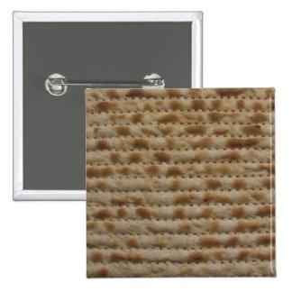 Matzah button/ badge 2 inch square button