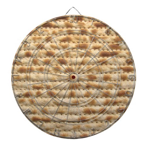 Matzah Dartboard With Darts