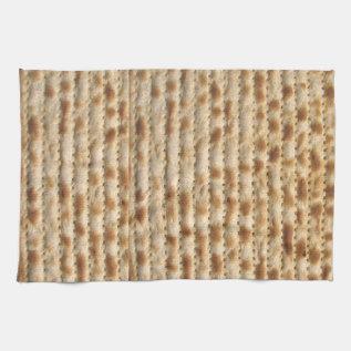 Matzah Kitchen Towel at Zazzle