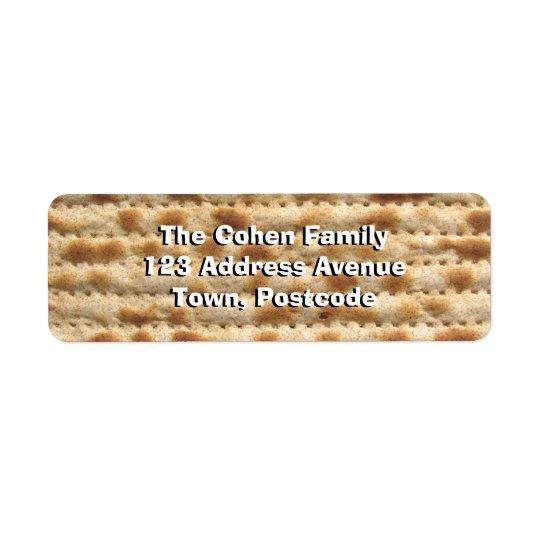 Matzah Label