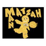 Matzah Man Postcards