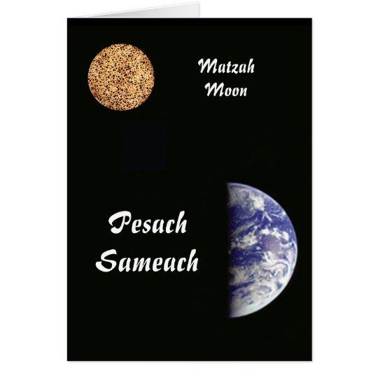 Matzah Moon Card