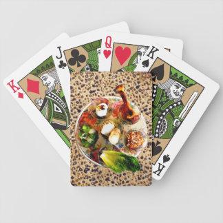 Matzah - placa de Seder Baraja Cartas De Poker